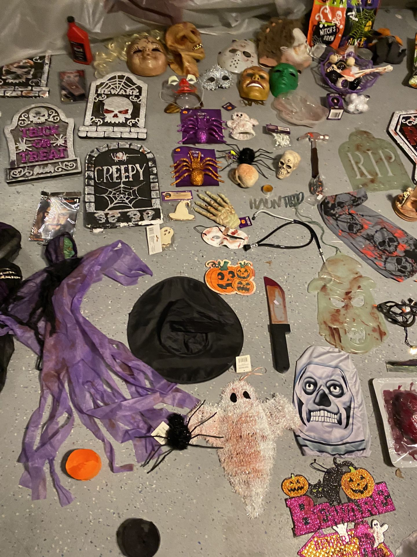 Halloween Bundle Take All Everything New $30