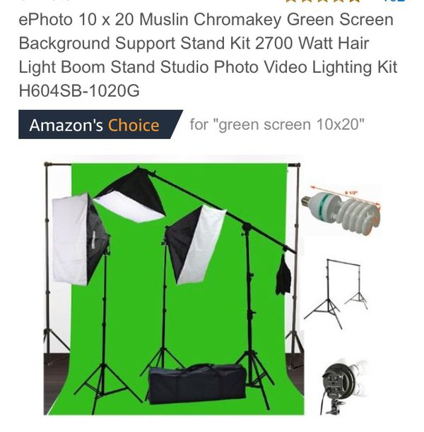 Green screen and lights for Sale in Mesa, AZ - OfferUp