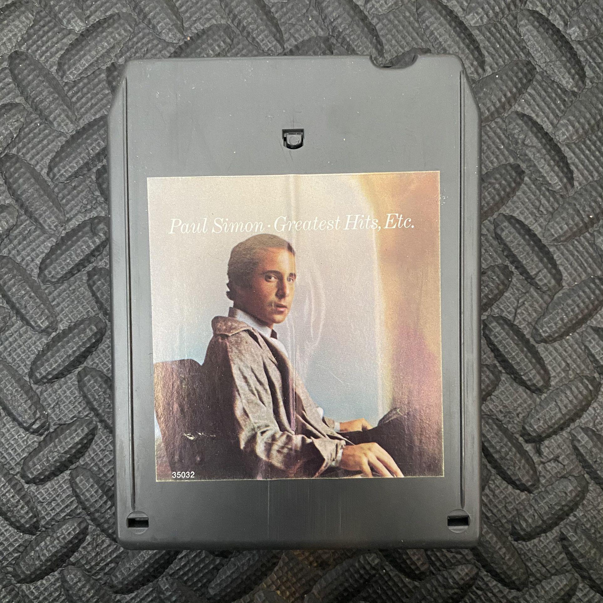 Paul Simon - Greatest Hits, Etc. Audio Music Album 8 Track Tape