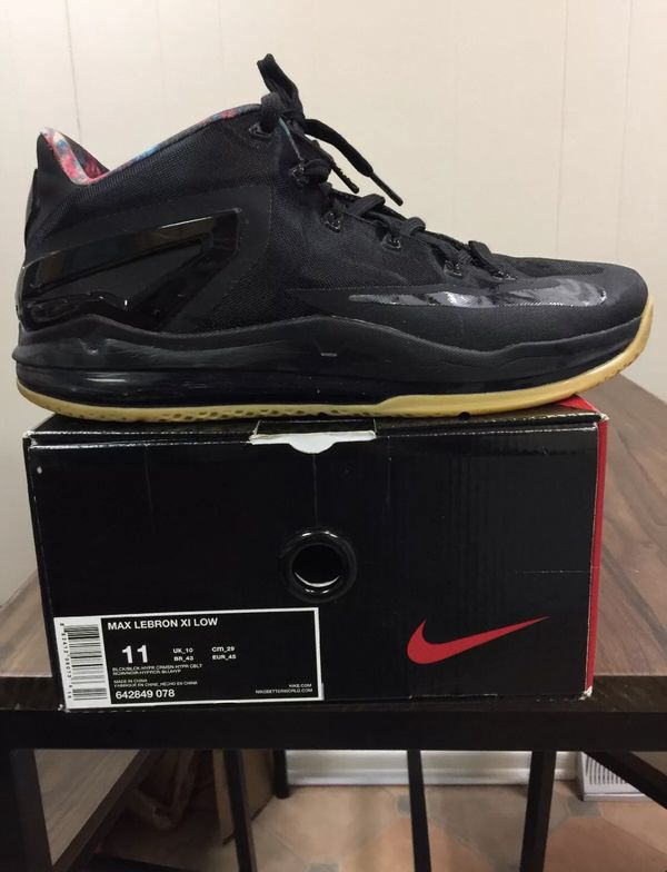 9d6cc0832fc LeBron 11 Black Gum for Sale in Pittsburgh