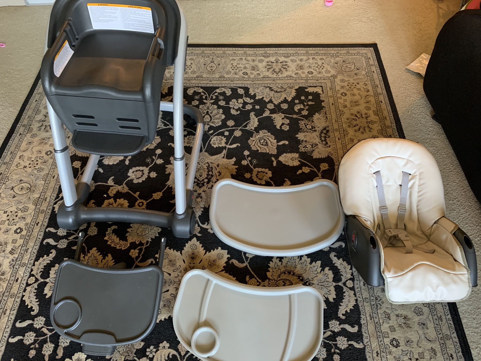 High Chair In Clean And Good Condition