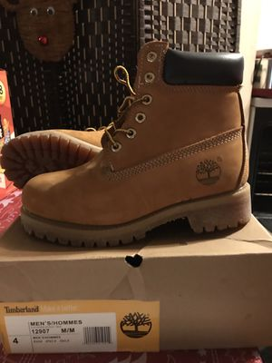 Timberland men size 4 for Sale in Mechanicsville, VA