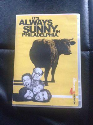 DVD always Sunny in Philadelphia season 4. for Sale in Detroit, MI
