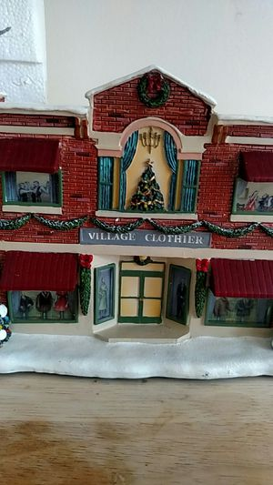 Norman Rockwell's Christmas village Clothier for Sale in Dale City, VA