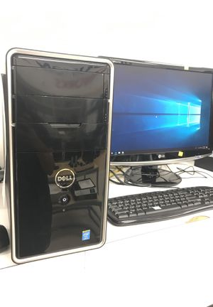 Dell Inspiron 3847 Computer and LG Screen for Sale in Houston, TX