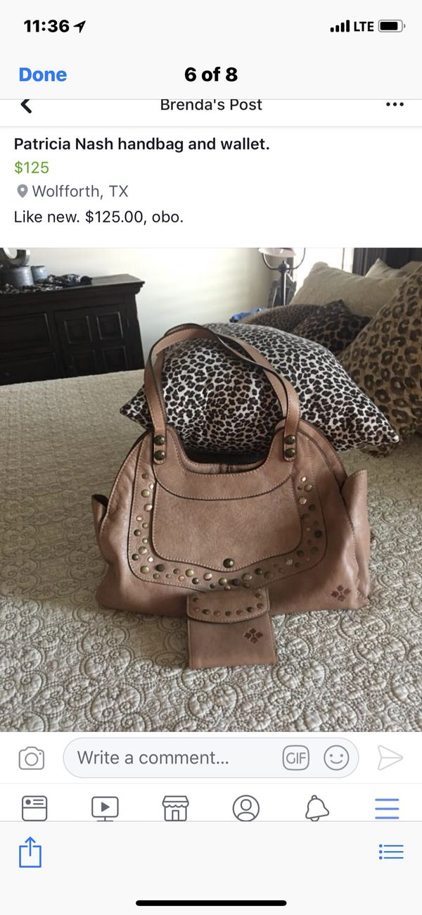 2f1a71c19 Patricia Nash Hand Bag and Wallet! for Sale in Ropesville, TX - OfferUp