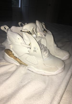 quality design cad49 2a2c2 Gold and White OVO Jordan 8s for Sale in Snellville, GA - OfferUp