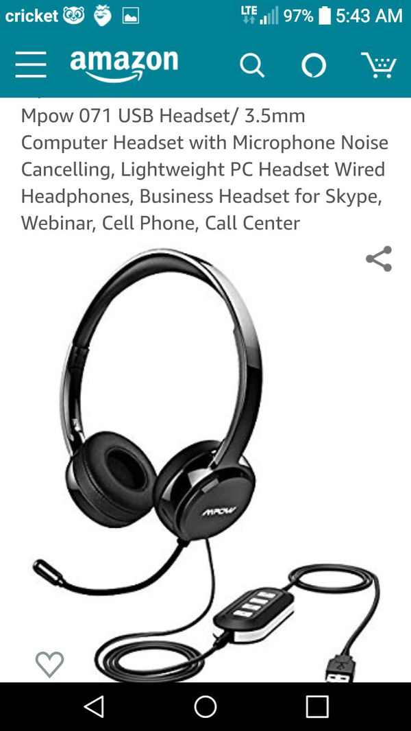 New and Used Usb headset for Sale in Moreno Valley, CA - OfferUp