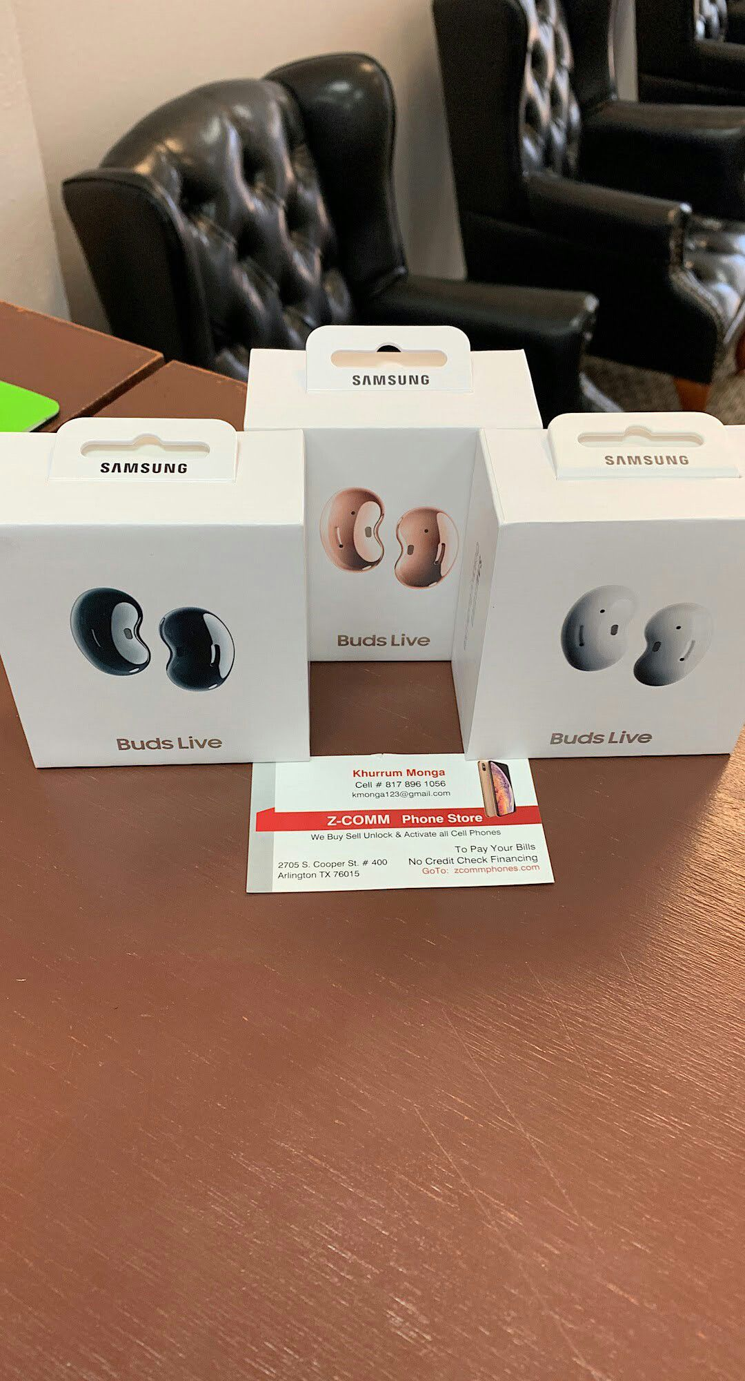 Samsung Galaxy Buds Live Brand New In Box Never Used