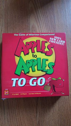 Apples to Apples TO GO (Card Game) for Sale in San Diego, CA