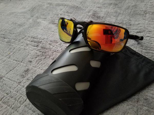 3fa25d3b73 Oakley X-Metal Badman - Dark Carbon W  Ruby Iridium Polarized OO6020 ...