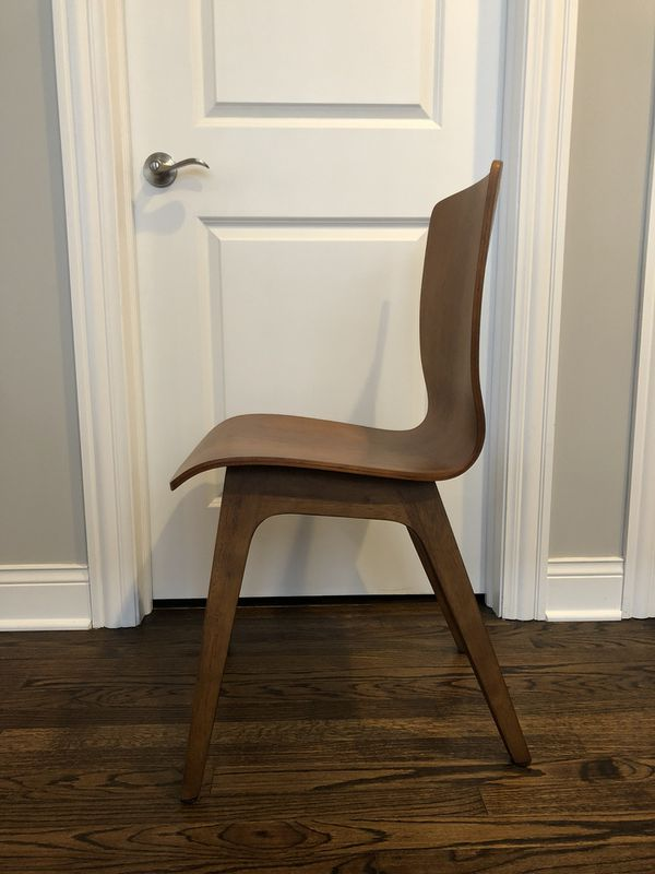 West Elm Crest Bentwood Chairs 4 For In Chicago Il