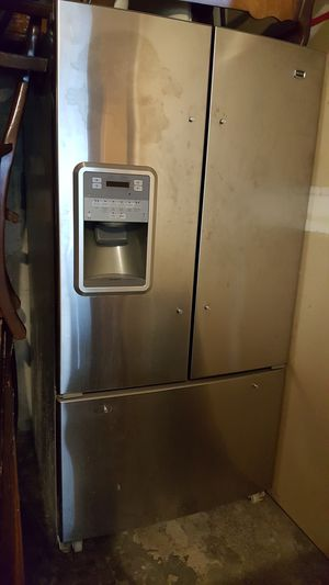 Refrigerator, Maytag Stainless still 3 drawers for Sale in Chevy Chase, MD