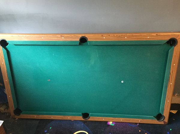 Regulation Size Slate Pool Table With Balls And Sticks For Sale In - Regulation size pool table prices