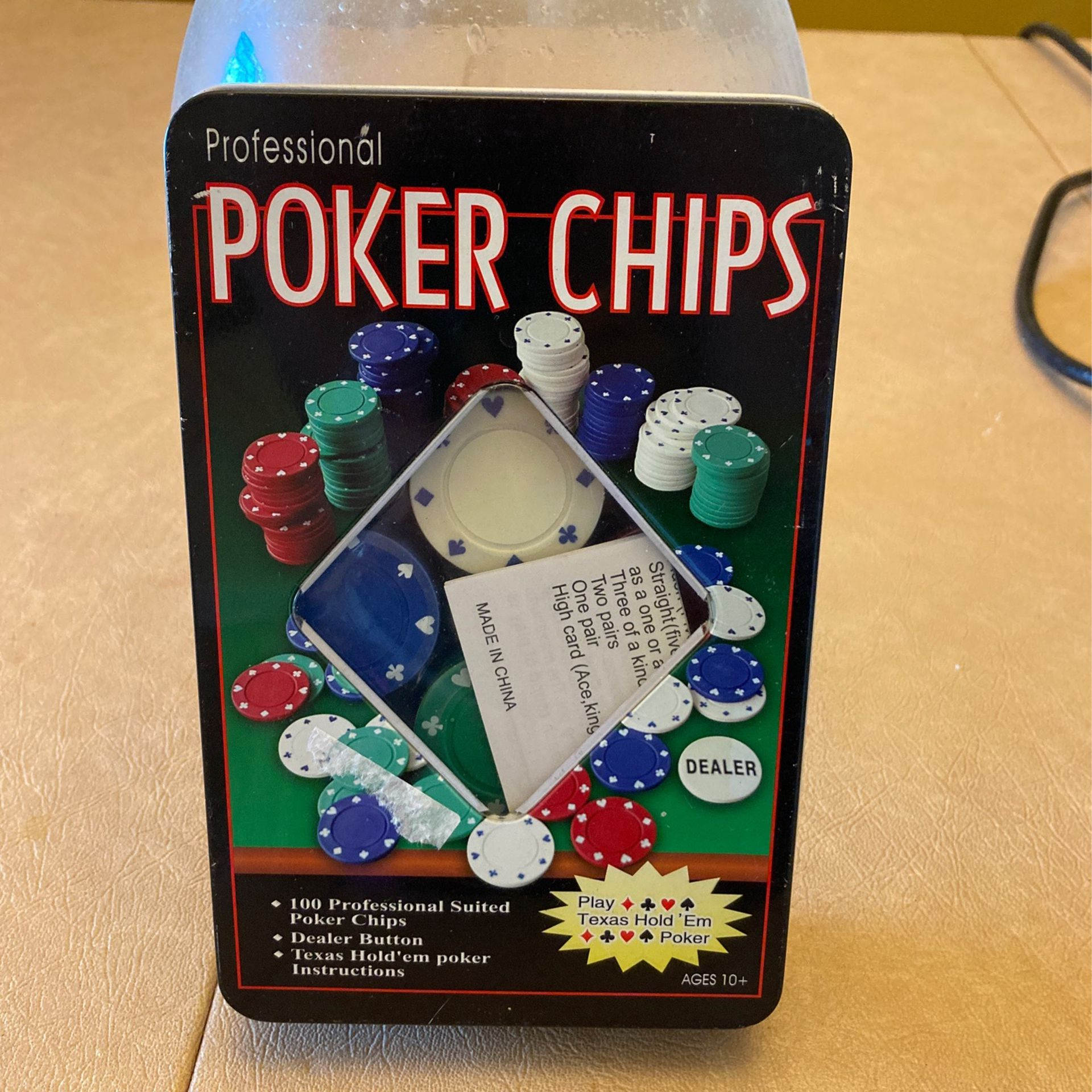 Professional Poker Chips