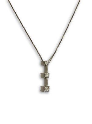 14k Diamond Necklace for Sale in Lincolnia, VA