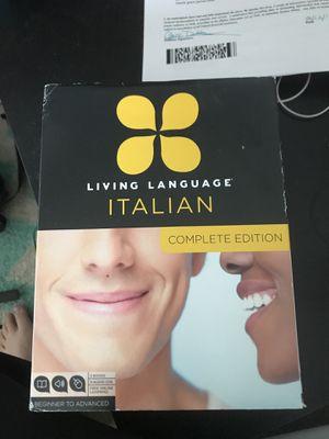 Living Language Italian Complete Edition for Sale in Boston, MA