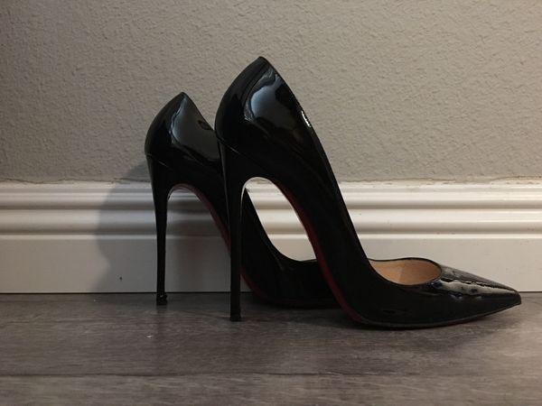 8eeb754e374e Authentic Christian Louboutin Black So Kate Heels for Sale in San ...