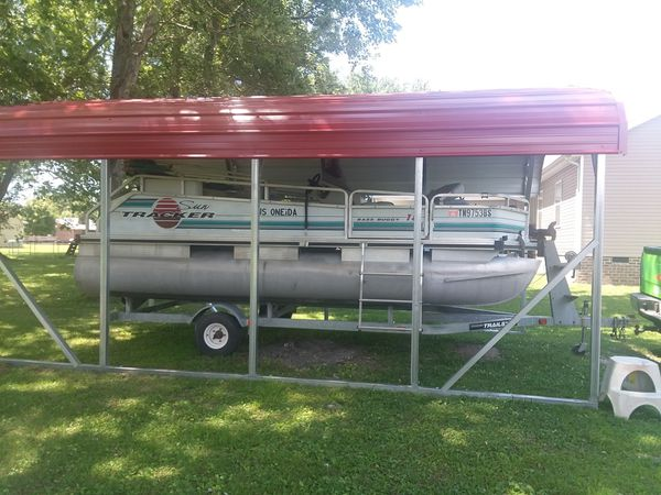 1995 suntracker pontoon