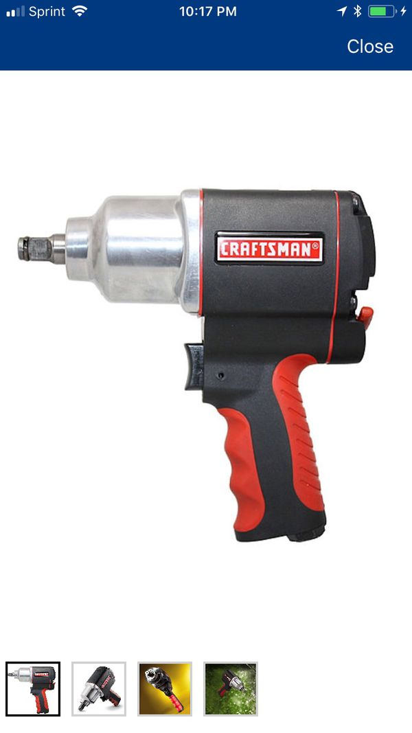 New Craftsman 1 2 Impact Wrench