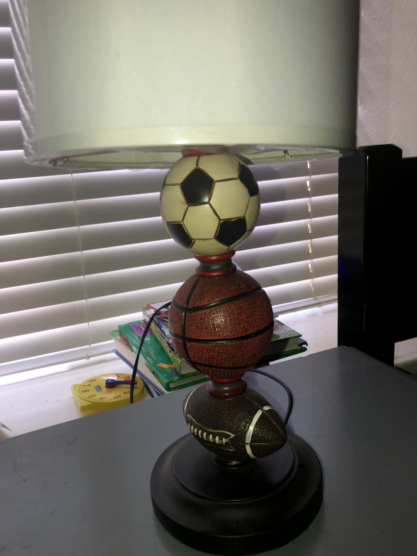 night stand with lamp $20