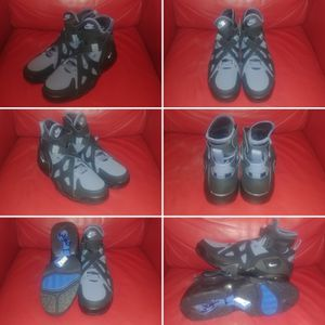 Nike Air Unlimited David Robinson Basketball Shoes - Black/White/Slate/Ultramarine - NEW - Size 10.5 Mens for Sale in Arlington, VA