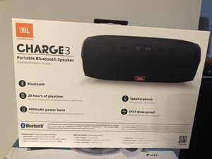 Bran new JBL charger 3 portable Bluetooth speaker for Sale in Oxon Hill, MD
