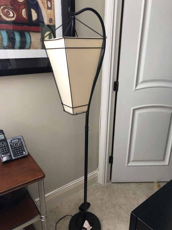 Hanging lantern floor lamp black for sale in south miami fl offerup aloadofball Images