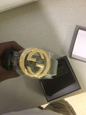 Gucci Men's black belt for Sale in Cleveland, OH