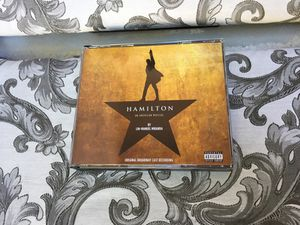 Hamilton original Broadway cast recording to disc set for Sale in San Diego, CA