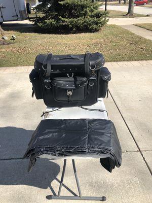 Photo Luggage motorcycle travel bag