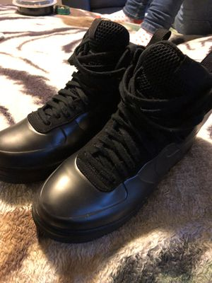 Black Foam Forces FOR SALE!!! Size 8 for Sale in Washington, DC