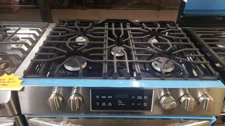 """New Frigidaire Slide in 30"""" in stainless steel with 5 burners Thumbnail"""