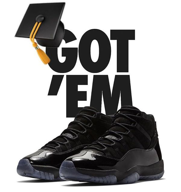 1fbd12aa1b3 Graduation !!! .. Jordan 11 cap and gown . Size 10.5 for Sale in ...