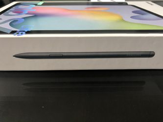 Samsung 10.4 inch Galaxy Tablet S6 Lite w/ Pen - OXFORD GRAY. Thumbnail
