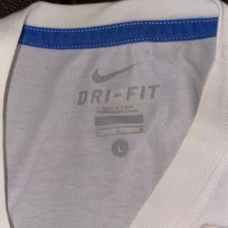 Nike dri-fit kobe graphic tee (white/blue)(L) Thumbnail