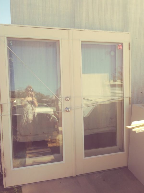 2 Sets French Style Double Doors For Sale In Tucson Az