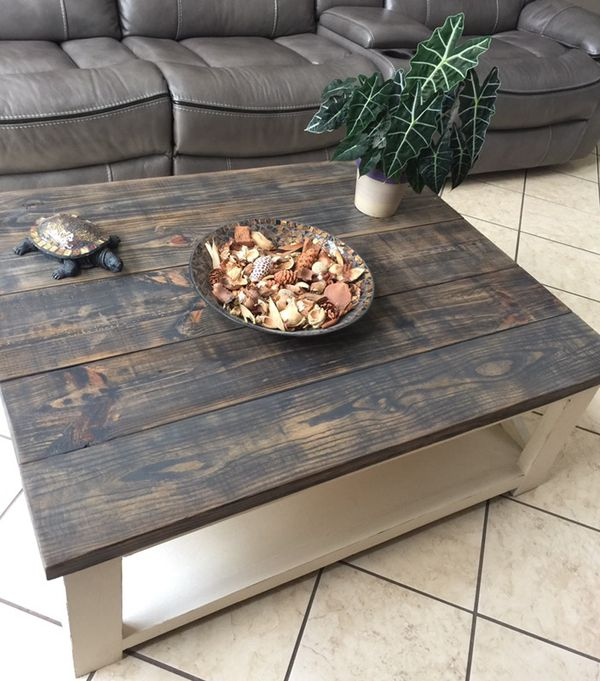 Gorgeous Rustic Farmhouse Solid Wood Coffee Table Orlando Fl