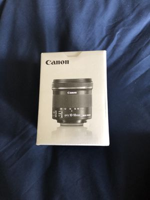 Canon 10-18mm lens for Sale in Ashburn, VA