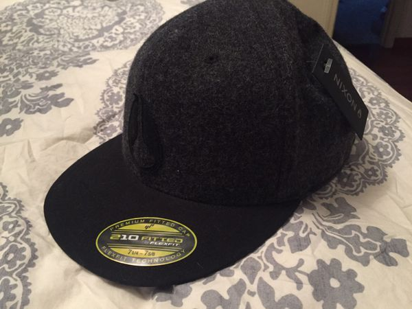 5deb48b0dfb Nixon 210 fitted hat - new w  tags for Sale in Tacoma