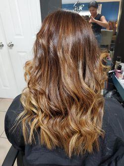 Hair color Thumbnail