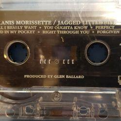 VINTAGE COLLECTABLE MUSIC CASSETTE TAPE ALANIS MORISSETTE JAGGED LITTLE PILL  Thumbnail