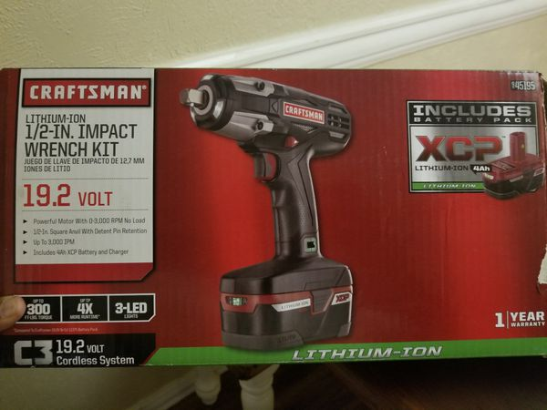 Craftsman C3 Impact Wrench Combo 1 2 And 3 8 19 2v