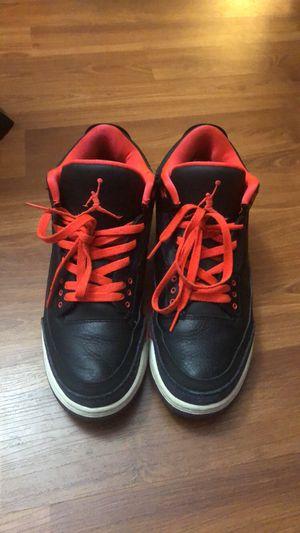 Air Jordan Retro 3 Crimson Men Size 9.5 USED for Sale in Richmond, CA