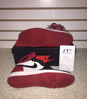 Air Jordan 1 bred toe for Sale in San Francisco, CA