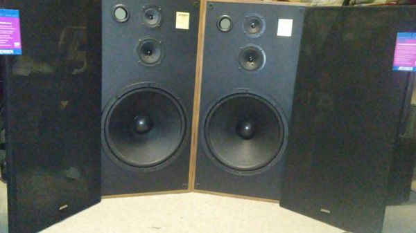 Jensen 3-way Concert Speakers for Sale in Colorado Springs, CO - OfferUp