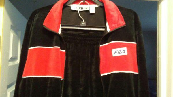 d0464799c99 Fila men's velour tracksuit medium BRAND NEW... for Sale in Kansas ...