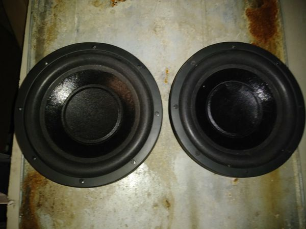Pair Of Shock Z4 10 Subs 1000 Watts Each Dvc With Box For In Northfield Oh Offerup