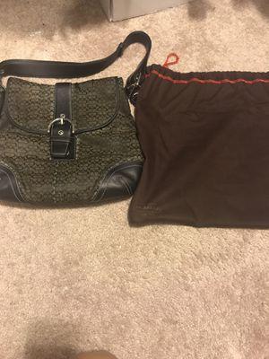 Black COACH purse for Sale in Centreville, VA