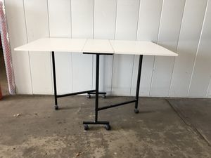 White Folding Dining Table for Sale in Alexandria, VA